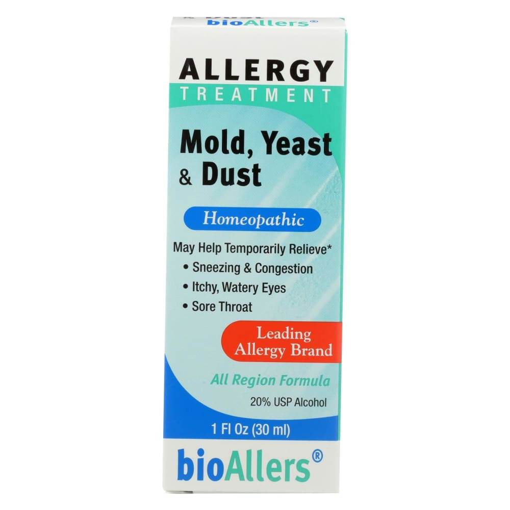 Bio-allers Allergy Treatment Mold Yeast And Dust - 1 Fl Oz - Eco-Friendly Home & Grocery