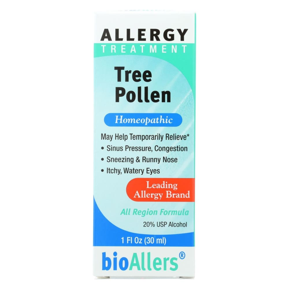 Bio-allers Tree Pollen Allergy Relief - 1 Oz - Eco-Friendly Home & Grocery