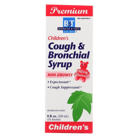 Image of Boericke And Tafel Childrens Cough And Bronchial Syrup - 8 Fl Oz - Eco-Friendly Home & Grocery