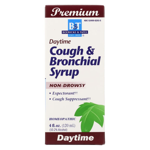 Boericke And Tafel Cough And Bronchitis Syrup - 4 Oz - Eco-Friendly Home & Grocery