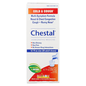 Boiron Chestal Cold N Cough - Adult - 6.7 Fl Oz - Eco-Friendly Home & Grocery