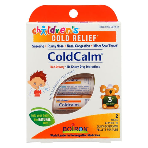 Image of Boiron Childrens Cold Calm Pellets - 2 Doses - Eco-Friendly Home & Grocery