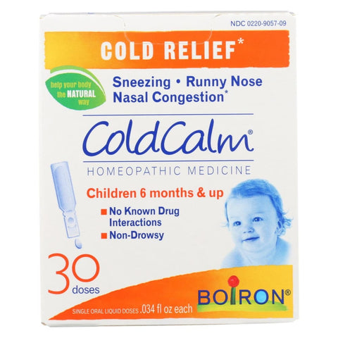Image of Boiron Coldcalm - Liquid - 30 Dose - 30 Dose - Eco-Friendly Home & Grocery