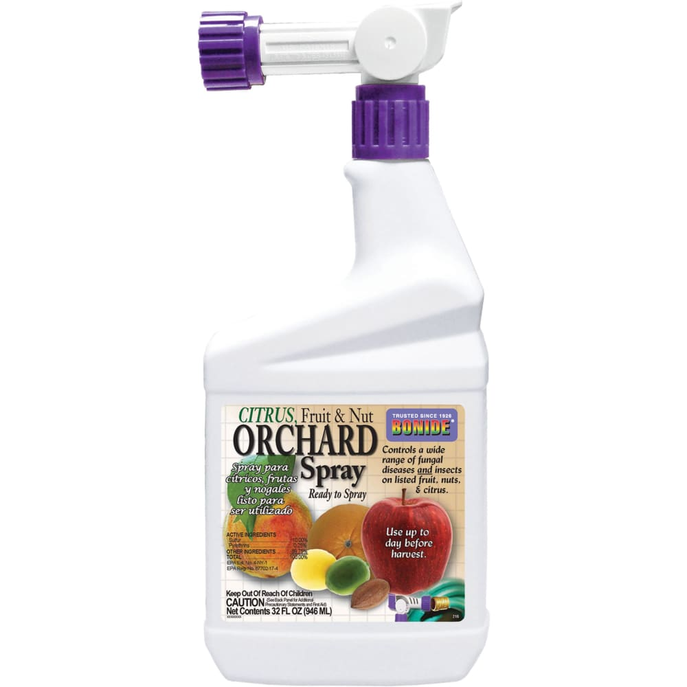 Bonide Products Inc P - Citrus Fruit Nut & Orchard Spray Ready To Spray - 1 QUART - Pet
