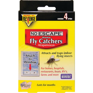 Bonide Products-revenge - Revenge Window Fly Catcher - RED / 4 PACK - Pet