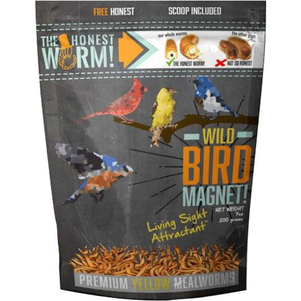 Dave&matts Chicken Stuff - Wild Bird Magnet With Living Sight Attractant - 7OZ - Pet