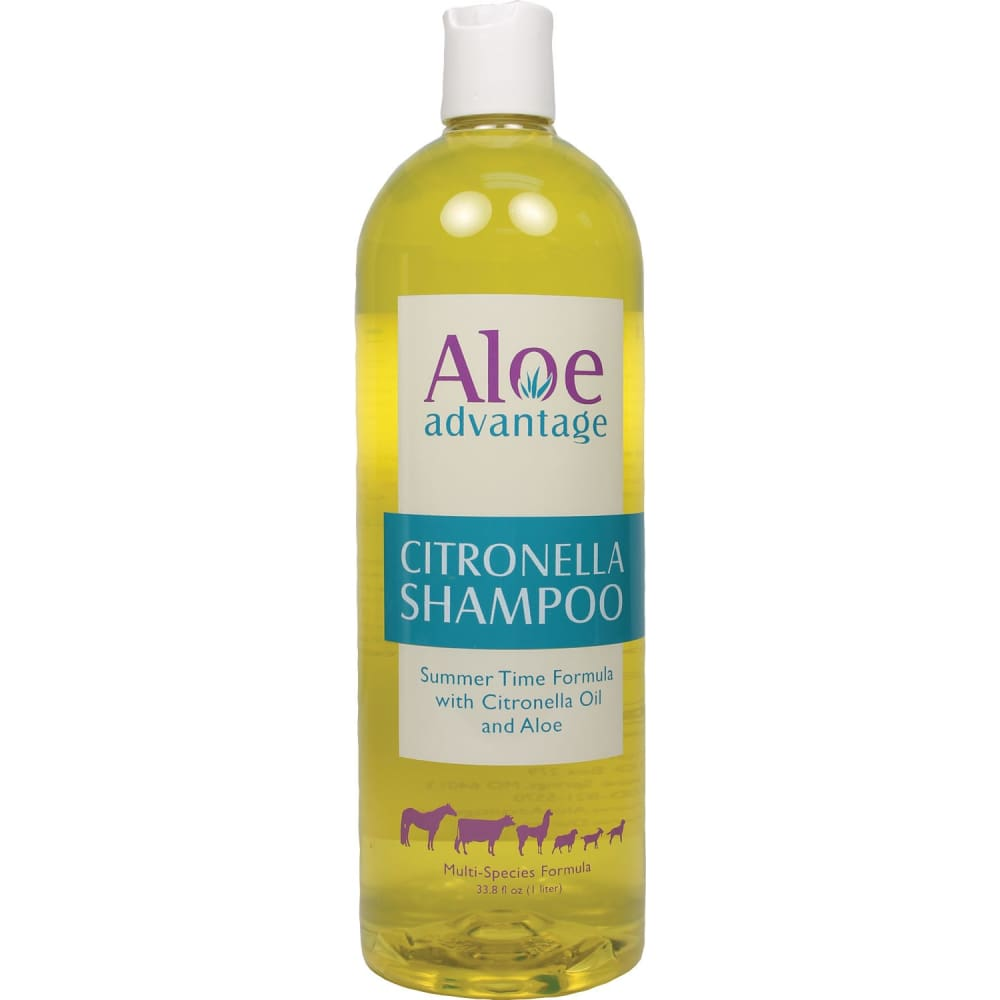 Durvet Fly D - Aloe Advantage Citronella Shampoo Concentrate - 1 LITER - Pet