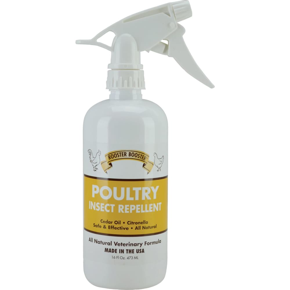 Durvet Fly D - Rooster Booster Poultry Insect Repellent Spray - 16 OUNCE - Pet