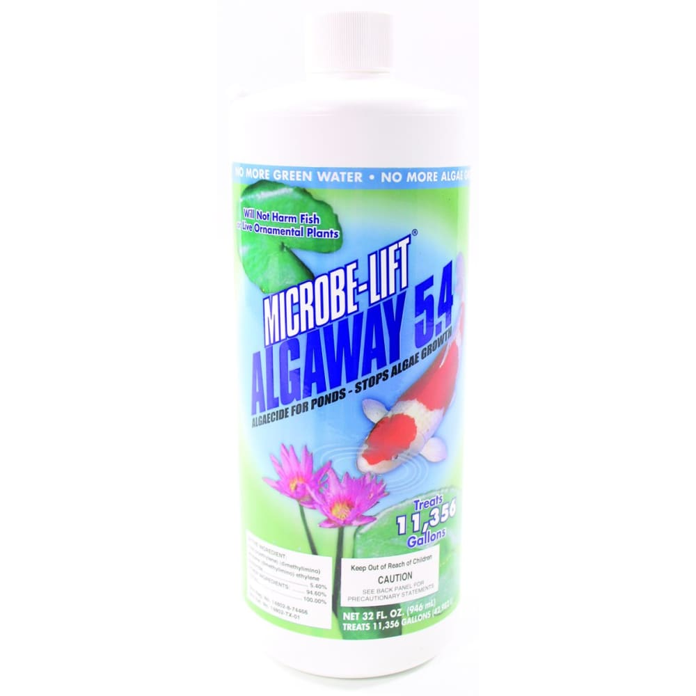 Ecological Laboratories - Microbe-lift Algaway 5.4 - 32 OUNCE - Pet