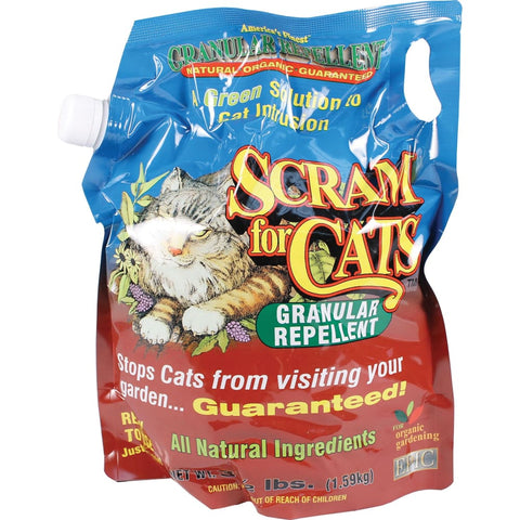 Enviro Protection Ind - Epic Cat Scram Granular Repellent Shaker Bag - 3.5 POUND - Pet