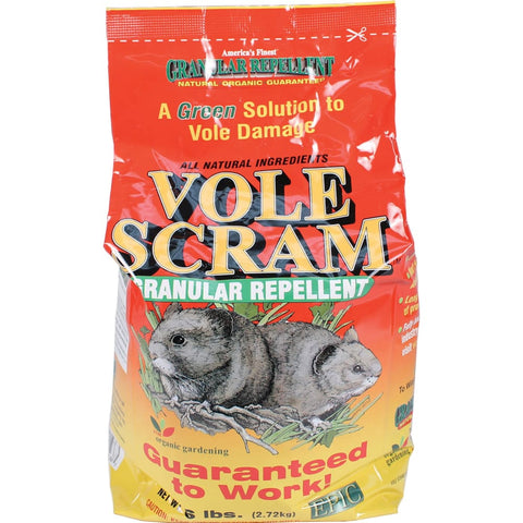 Enviro Protection Ind - Vole Scram Granular Repellent - 6 POUND - Pet