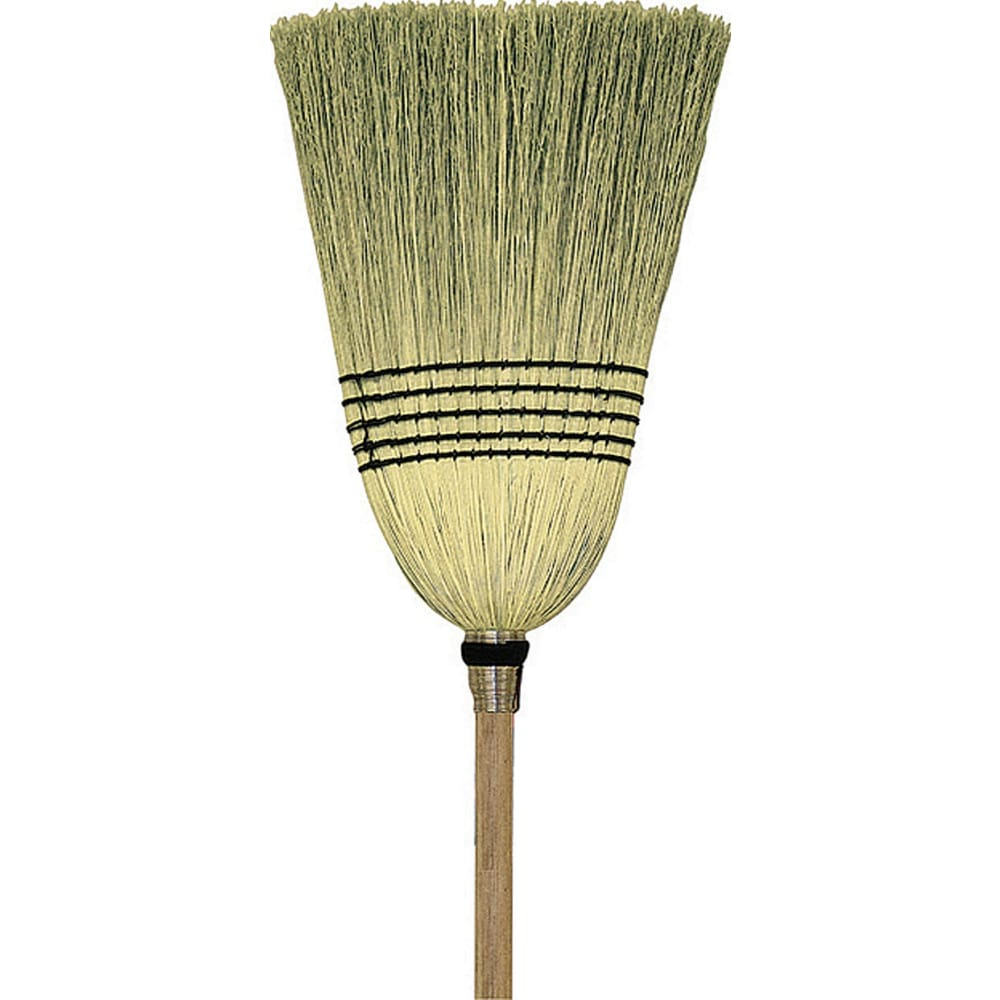 Hamburg/nexstep Comm Prod - Parlor 100% Corn Broom - 12 INCH - Pet
