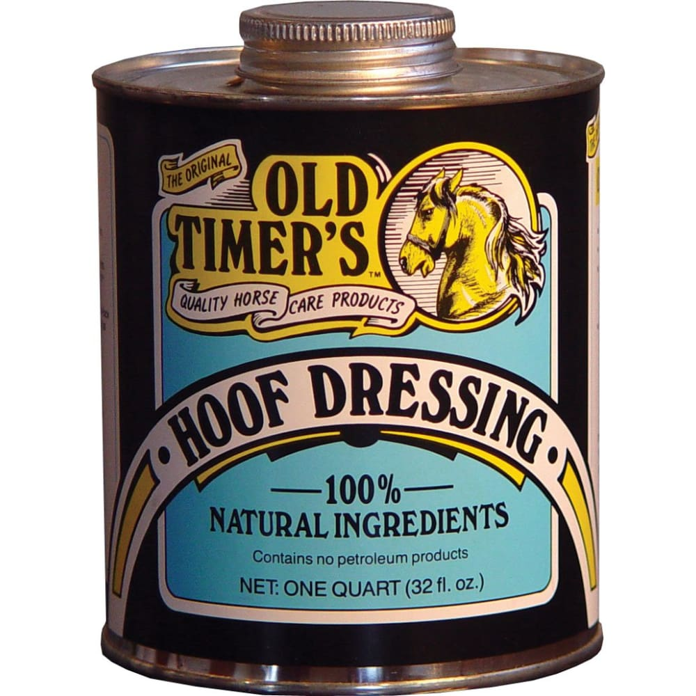 Healthy Haircare Product - Old Timers Hoof Dressing - 32 OUNCE - Pet