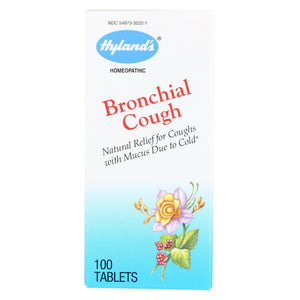 Hylands Homeopathic Bronchial Cough - 100 Tablets - Eco-Friendly Home & Grocery