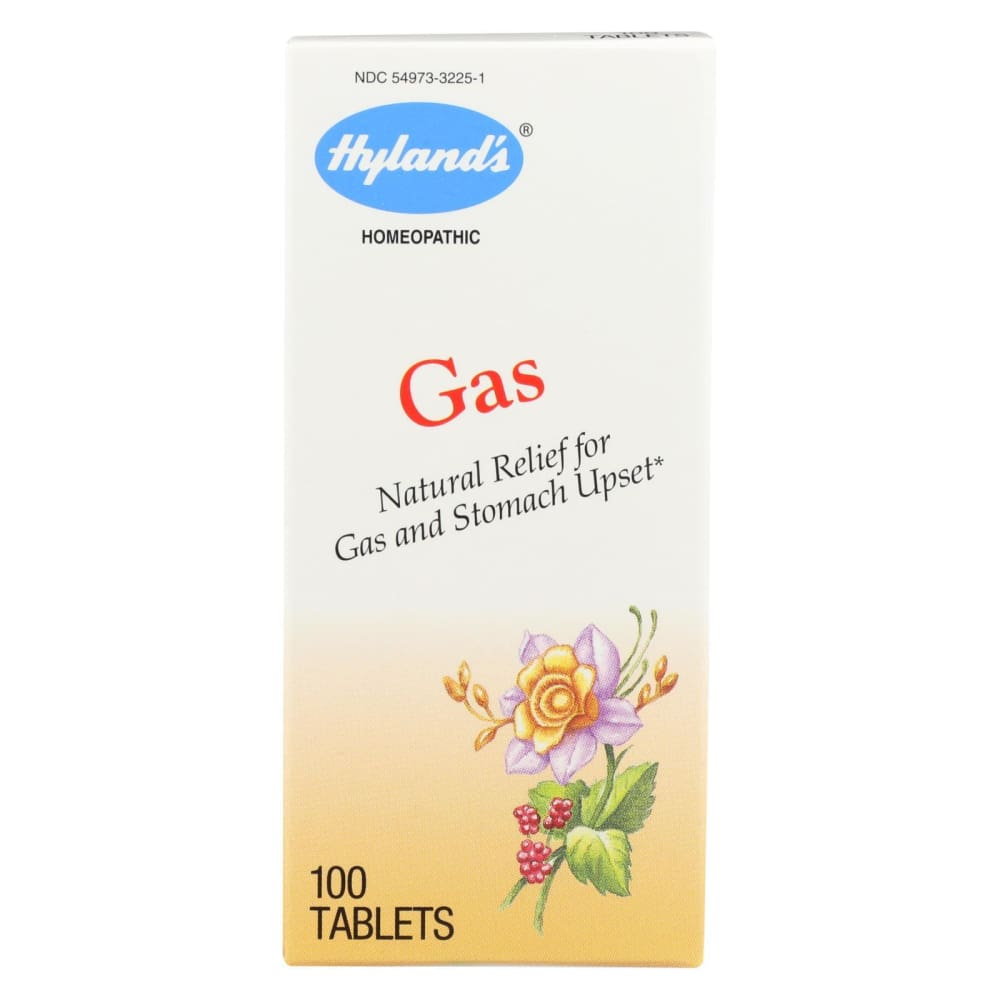 Hylands Homeopathic Gas - 100 Tablets - Eco-Friendly Home & Grocery