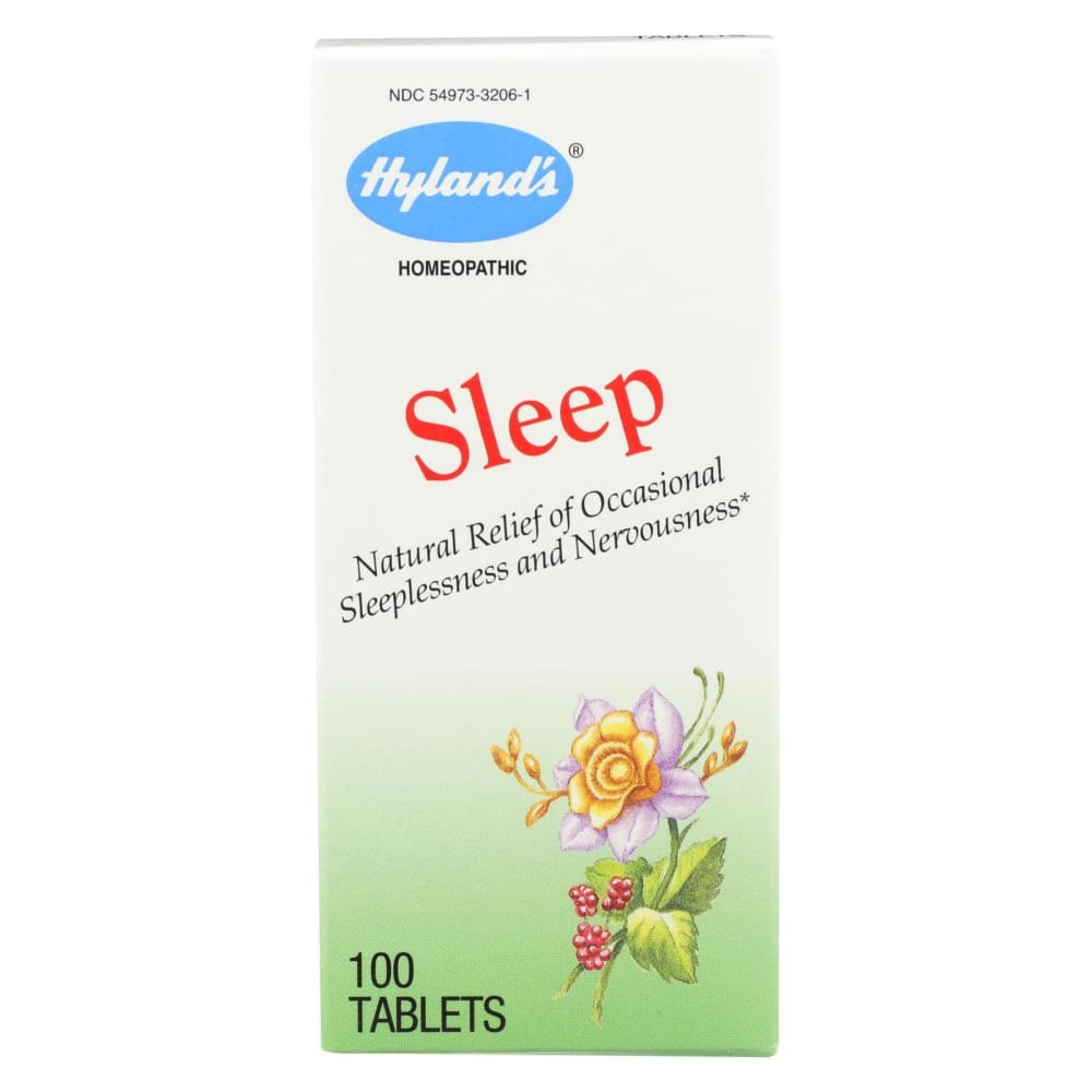 Hylands Homeopathic Sleep - 100 Tablets - Eco-Friendly Home & Grocery