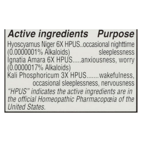 Image of Hylands Homeopathic Sleep - 100 Tablets - Eco-Friendly Home & Grocery
