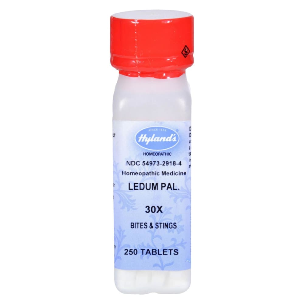 Hylands Ledum Pal 30x - 250 Tablets - Eco-Friendly Home & Grocery