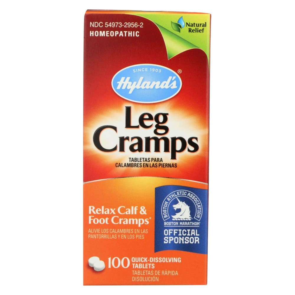 Hylands Leg Cramps - 100 Quick Disolving Tablets - Eco-Friendly Home & Grocery