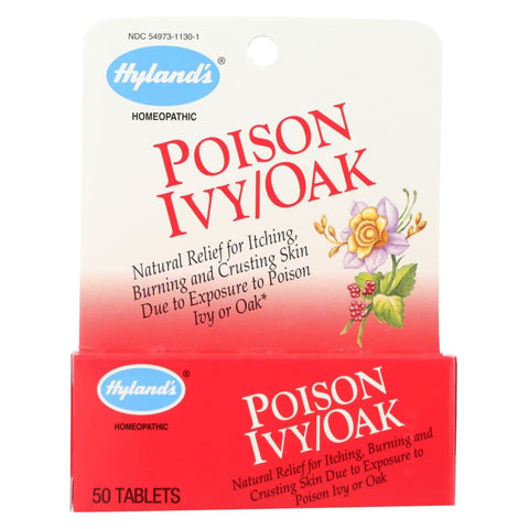Image of Hylands Poison Ivy Oak - 50 Tablets - Eco-Friendly Home & Grocery