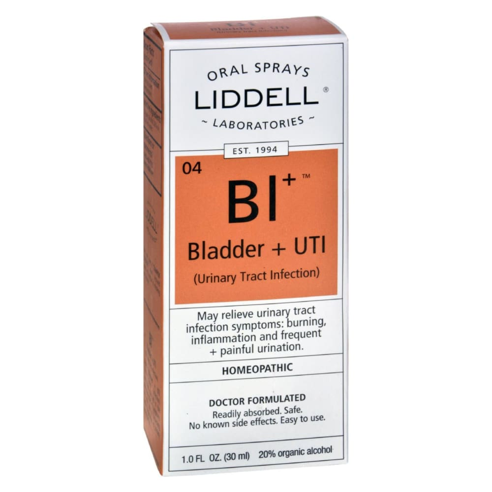 Liddell Homeopathic Bladder And Uti Spray - 1 Fl Oz - Eco-Friendly Home & Grocery