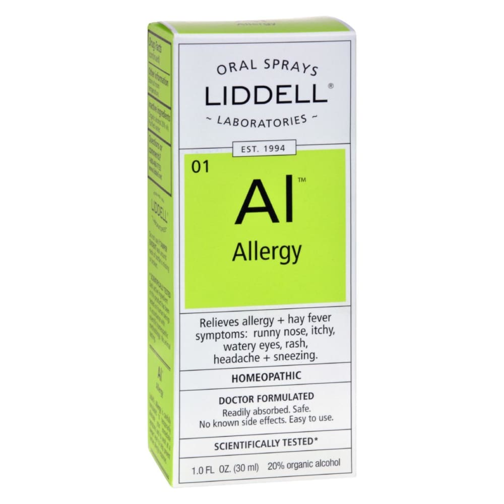 Liddell Homeopathic Oral Allergy Spray - 1 Fl Oz - Eco-Friendly Home & Grocery