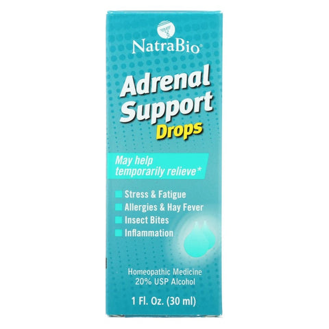 Image of Natrabio Adrenal Support - 1 Fl Oz - Eco-Friendly Home & Grocery