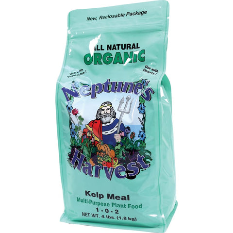 Neptunes Harvest - Organic Kelp Meal Multi Purpose Plant Food 1-0-2 - OAK / 4 POUND - Pet