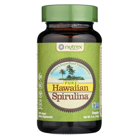 Image of Nutrex Hawaii Pure Hawaiian Spirulina Pacifica Powder - 5 Oz - Eco-Friendly Home & Grocery