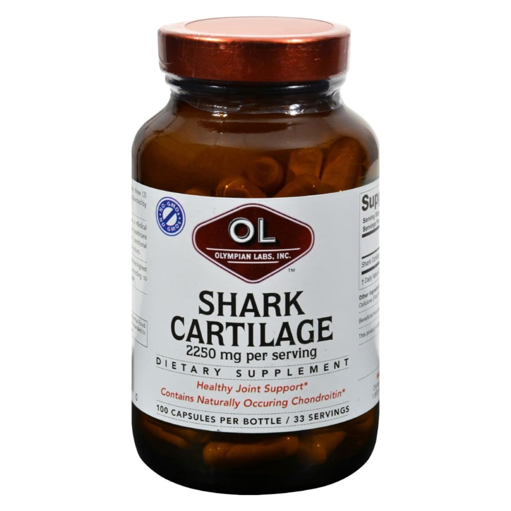 Olympian Labs Shark Cartilage - 750 Mg - 100 Capsules - Eco-Friendly Home & Grocery