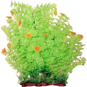 Poppy Pet - Extra Wide Bushy Ambulia Aquarium Plant - LIME GREEN / 16 INCH - Pet