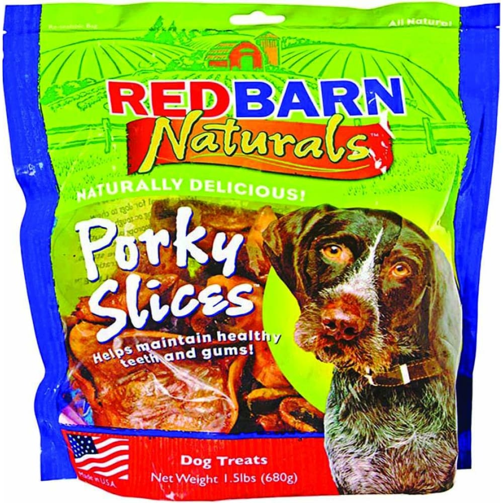 Redbarn Pet Products Inc - Porky Slices - 1.5 LB - Pet