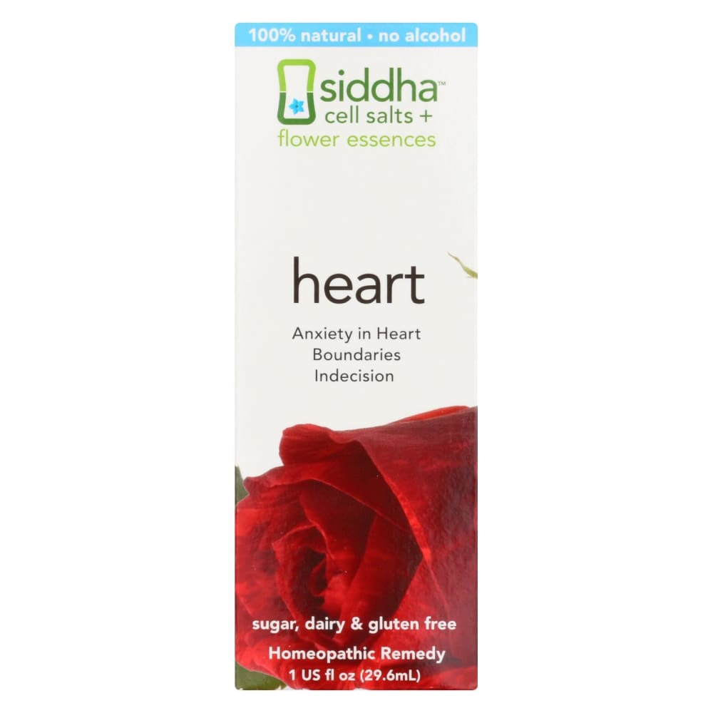 Siddha Flower Essences Heart - 1 Fl Oz - Eco-Friendly Home & Grocery
