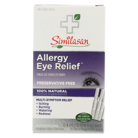 Image of Similasan Allergy Eye Relief - 0.015 Fl Oz - Eco-Friendly Home & Grocery