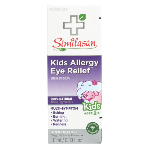 Image of Similasan Allergy Eye Relief - Kids - .33 Oz - Eco-Friendly Home & Grocery