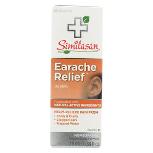 Similasan Ear Relief Ear Drops - 10 Ml - Eco-Friendly Home & Grocery