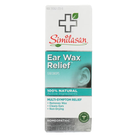 Image of Similasan Ear Wax Relief - 0.33 Fl Oz - Eco-Friendly Home & Grocery