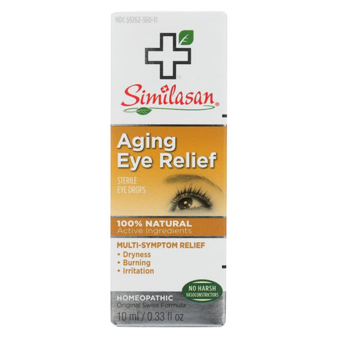 Image of Similasan Eye Drops - Aging Relief - .33 Fl Oz - Eco-Friendly Home & Grocery