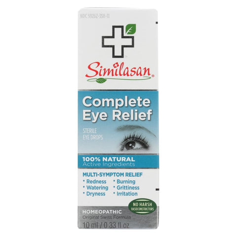 Image of Similasan Eye Drops - Complete Relief - .33 Oz - Eco-Friendly Home & Grocery