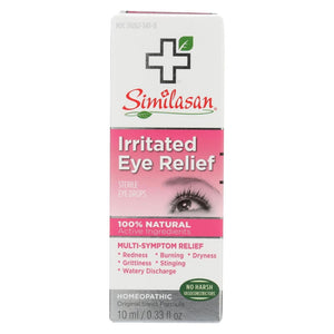 Similasan Irritated Eye Relief - 0.33 Fl Oz - Eco-Friendly Home & Grocery