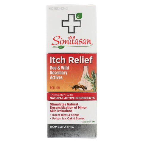 Image of Similasan Itch Relief Roll On - 0.25 Fl Oz. - Eco-Friendly Home & Grocery