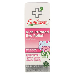 Similasan Kids Irritated Eye Relief - .33 Oz - Eco-Friendly Home & Grocery