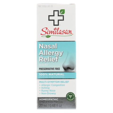 Similasan Nasal Allergy Relief - 0.68 Fl Oz - Eco-Friendly Home & Grocery