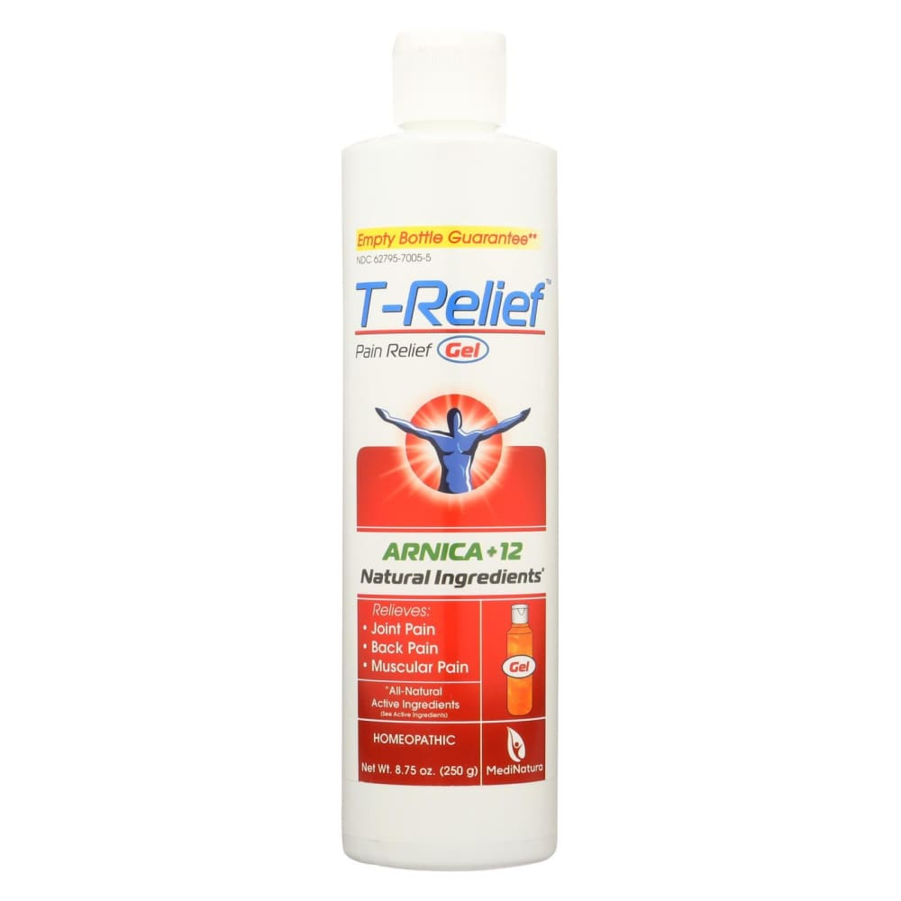 T-relief Pain Relief Gel - Arnica - 8.75 Oz - Eco-Friendly Home & Grocery