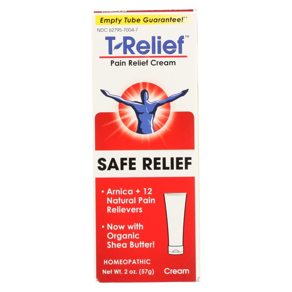 T-relief Pain Relief Ointment - Arnica Plus 12 Natural Ingredients - 1.76 Oz - Eco-Friendly Home & Grocery