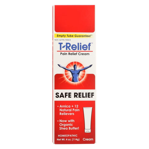 T-relief Pain Relief Ointment - Arnica Plus 12 Natural Ingredients - 3.53 Oz - Eco-Friendly Home & Grocery