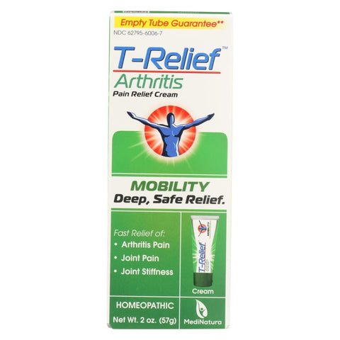 Image of T-relief Zeel - Arthritic Pain - Osteoarthritis - Joint Stiffness - 1.76 Oz - Eco-Friendly Home & Grocery