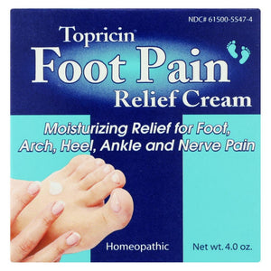 Topricin Foot Therapy - 4 Oz - Eco-Friendly Home & Grocery