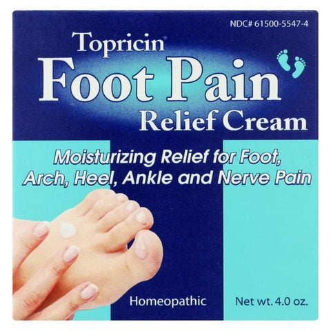 Image of Topricin Foot Therapy - 4 Oz - Eco-Friendly Home & Grocery
