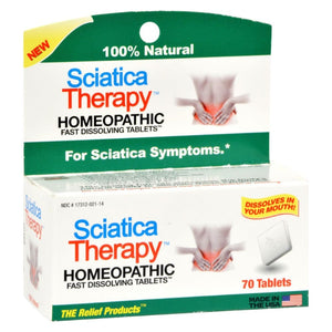 Trp Sciatica Therapy - 70 Tablets - Eco-Friendly Home & Grocery